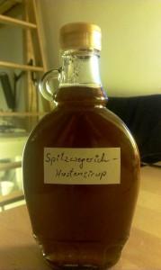 Spitzwegerich-Hustensirup